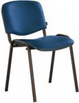 Офисное кресло  Brabix  ``Iso CF-005``, черный каркас, кожзам синий, 531980
