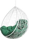 Мебель для дачи  Bigarden  ``Tropica``, белое, без стойки, зеленая подушка, TropicaWhiteBSG, 2229690750509