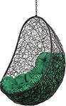 Мебель для дачи  Bigarden  ``Easy``, черное, без стойки, зеленая подушка, EasyBSG, 2229690689427