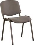 Офисное кресло  Brabix  ``Iso CF-005``, черный каркас, ткань серая, 531972