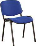 Офисное кресло  Brabix  ``Iso CF-005``, черный каркас, ткань синяя с черным, 531974