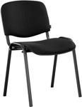 Офисное кресло  Brabix  ``Iso CF-005``, черный каркас, ткань черная, 531971
