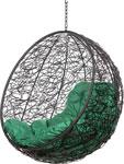 Качели садовые  Bigarden  ``Kokos``, черное, без стойки, зеленая подушка, KokosBlackBSG, 2229690748988