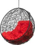Качели садовые  Bigarden  ``Kokos``, черное, без стойки, красная подушка, KokosBlackBSR, 2229690728058
