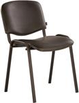 Офисное кресло  Brabix  ``Iso CF-005``, черный каркас, кожзам черный, 531977