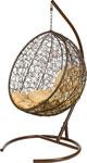Качели садовые  Bigarden  ``Kokos``,коричневое, со стойкой, коричневая подушка, KokosBrownB, 2222020379623
