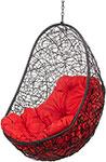 Мебель для дачи  Bigarden  ``Easy``, черное, без стойки, красная подушка, EasyBSR, 2226906908433