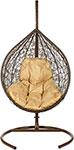Мебель для дачи  Bigarden  ``Tropica``, коричневое, со стойкой, коричневая подушка, TropicaBrownB, 2229690752985