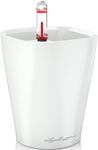 Емкость для растений  Lechuza  MINI-DELTINI, с субстратом в комплекте, пластик, белое, Д10 В13 см, 0,4 л, 14950