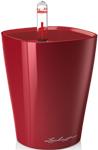 Емкость для растений  Lechuza  MINI-DELTINI, с субстратом в комплекте, пластик, красное, Д10 В13 см, 0,4 л, 14960