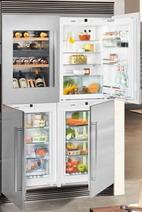 Встраиваемый холодильник Side by Side  Liebherr  SBSWdf 64I5 (EWTdf 1653-21 + IKP 1660-61 + IGN 1664-21 + SIBP 1650-21)