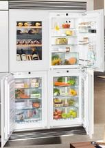 Встраиваемый холодильник Side by Side  Liebherr  SBSWgw 64I5 (EWTgw 1683-21 + IKP 1660-61 + IGN 1664-21 + SIBP 1650-21)