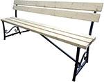 Мебель для дачи  М-Групп  ``Флора`` разборная 1,5м, бежевый, Л3261