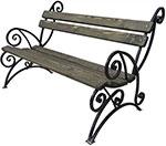 Мебель для дачи  М-Групп  ``Арбат`` 1,5м, коричневый, Л3263