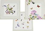 Кухонный текстиль  Santalino  ``Ботаника``, 40х40 см., 100% хлопок, белый, 850-702-8