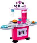 Сюжетно-ролевая игра  Mochtoys  78 см со столиками, розовая,10146 (26 предметов)