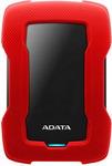 Внешний жесткий диск (HDD)  A-DATA  AHD330-1TU31-CRD, RED USB3.1 1TB EXT. 2.5``