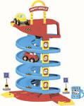 Транспорт  Dolu  Игровой набор спиральная дорога с машинками 5153