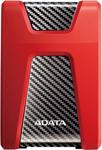 Внешний жесткий диск (HDD)  A-DATA  AHD650-1TU31-CRD ,RED USB3.1 1TB EXT. 2.5``