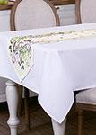 Кухонный текстиль  Santalino  ``Ботаника`` 40х180 см, белая, 850-702-3