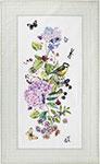 Кухонный текстиль  Santalino  ``Ботаника`` 70х40 см, белое, 850-702-6