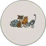 Столовая посуда  Lefard  Озорные коты диаметр=20 см высота=2 см, серый, 188-177