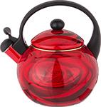 Чайник  Agness  эмалированный со свистком, 2,2 л, индукционное дно, 915-117