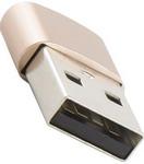 Кабель и переходник  Red Line  Type-C-USB золотой УТ000014354