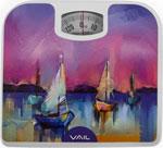 Весы напольные  Vail  VL-4208, 130 кг, 26*24см
