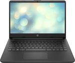 Ноутбук  HP  14s-fq0019ur (22P65EA) black