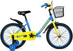 Велосипед детский  Forward  BARRIO 18 (18`` 1 ск.) 2020-2021, синий, 1BKW1K1D1005
