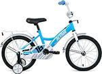 Велосипед детский  Altair  KIDS 16 (16`` 1 ск.) 2020-2021, бирюзовый/белый, 1BKT1K1C1007