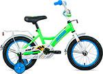 Велосипед детский  Altair  KIDS 14 (14`` 1 ск.) 2020-2021, ярко-зеленый/синий, 1BKT1K1B1003
