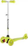 Каталка и самокат  Novatrack  Disco-kids Basic для детей, регулируемый по высоте, лимонный