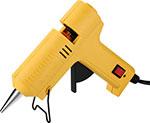 Клеевой пистолет  Deko  DKGG40 40Вт SET 5 с набором цветных клеевых стержней (12 шт, 7 мм) черно-желтый