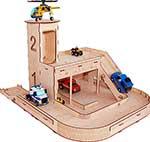 Деревянная игрушка  Paremo  серии ``Я конструктор`` Паркинг PRT520-04