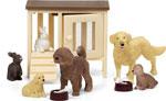 Сюжетно-ролевая игра  Lundby  Набор домашних животных