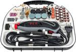 Прямошлифовальная машина  P.I.T.  PMG150-С МАСТЕР(150Вт,гиб.вал, цанга 3,2мм, ск-ть 10000-33000об/мин, 211 пред-в)