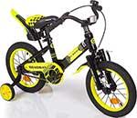 Велосипед детский  Mobile Kid  ROADWAY 14 BLACK YELLOW