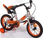 Велосипед детский  Mobile Kid  ROADWAY 14 SILVER ORANGE