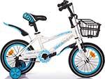 Велосипед детский  Mobile Kid  SLENDER 14 WHITE BLUE