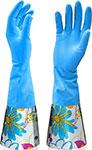 Перчатки рабочие  Malibri  c удлиненной манжетой ПВХ размер S