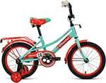 Велосипед детский  Forward  AZURE 16 зеленый/красный1BKW1K1C1027