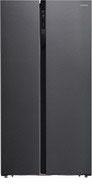 Холодильник Side by Side  Hyundai  CS5003F черная сталь
