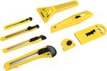 Набор инструментов  Deko  DKCK08 (8 предметов) черно-желтый