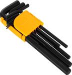 Ключ и отвертка  Deko  DKHT09-1 (1,5-10 мм, 9 предметов) черно-желтый