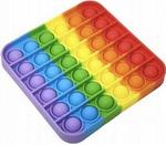 Интерактивная и развивающая игрушка  Red Line  Pop it разноцветные резиновые пузырьки