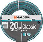 Шланг садовый  Gardena  Classic 1/2`` 20м поливочный армированный серый/зеленый (18003-20.000.00)