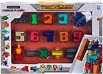 Робот, трансформер  1 Toy  Трансботы ``Боевой расчет`` (10 цифр, 5 знаков)Т16430