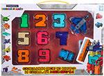Робот, трансформер  1 Toy  Трансботы ``Боевой расчет`` (10 цифр)